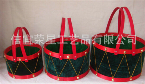 专业供应 创意编织工艺竹篮 手工优质竹篮批发