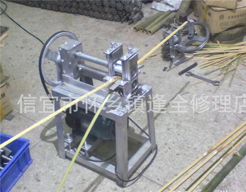 電動開片機 破竹機 破篾機 竹條分層機 捆扎甘蔗竹片機