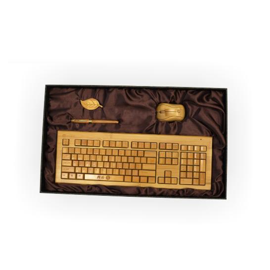 江西鍵鼠套裝供應    高端商務鍵鼠   無線鍵鼠大禮包   辦公外設鍵鼠    環保竹制鍵鼠做工精細