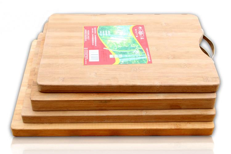 手工竹制菜板 纯竹制竹砧板 厨房便携式切菜板