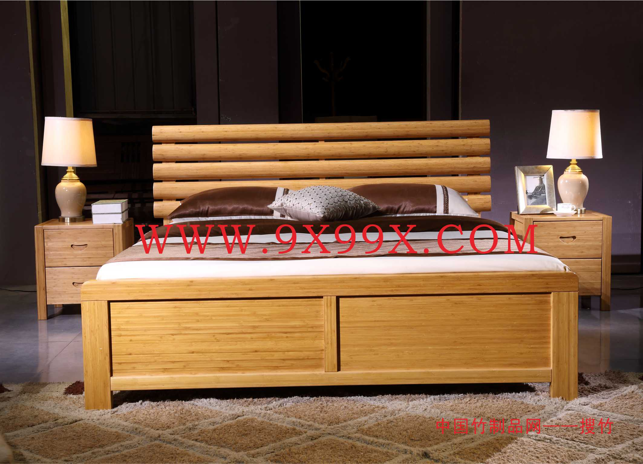 双人床(通用床母150mm宽)