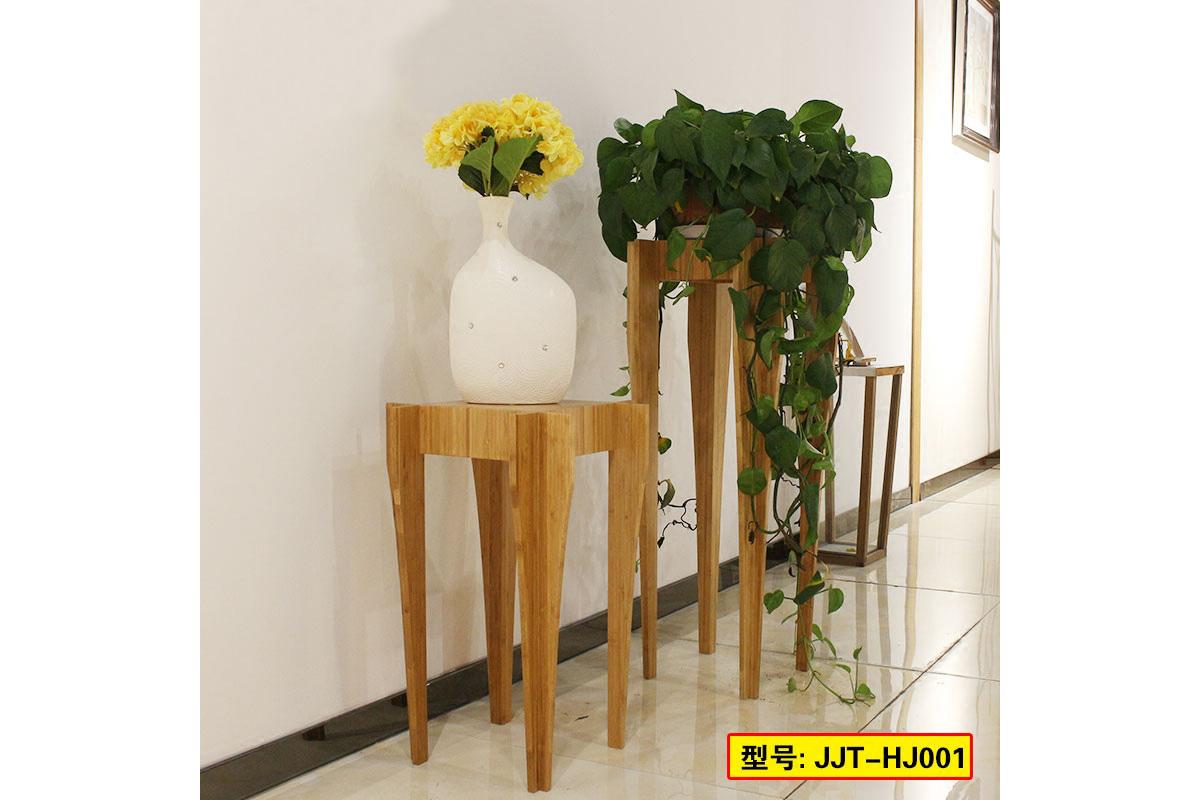 楠竹置物花几现代简约全竹客厅阳台花盆架落地花架