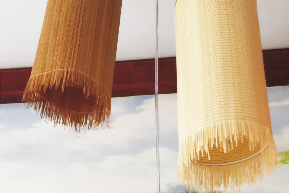 竹灯 直径14cm*高30cm竹头带丝 吊灯