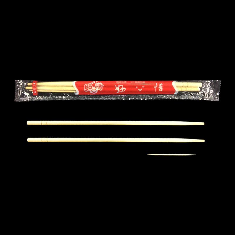 筷子 5.5*22.5帶牙簽