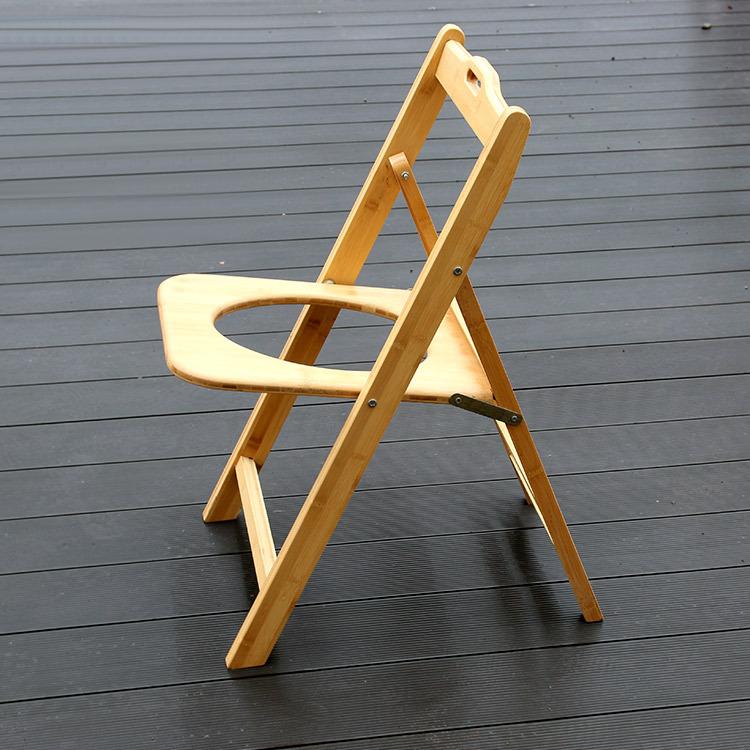 純手工竹制 可折疊坐便椅老人孕婦殘疾人居家安全用具 坐便凳