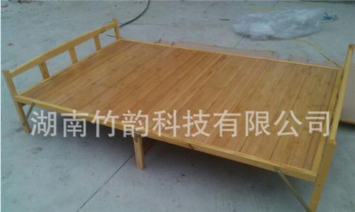 14cm 拼板竹床 杉木床 折疊床單人雙人 1.2米1m 折疊竹床批發