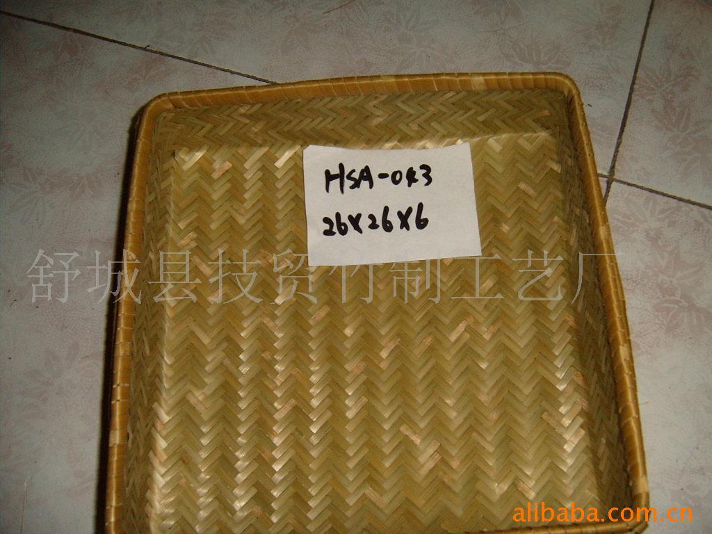 花眼篮 土特产品包装用工艺竹篮