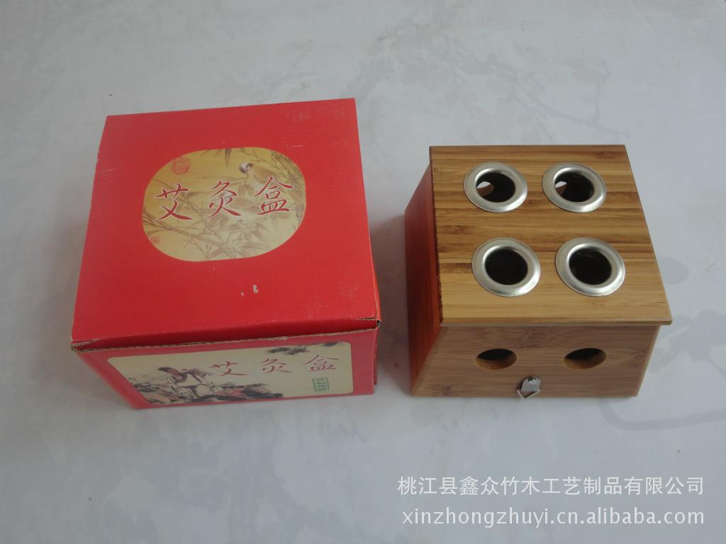 经络保健器材 厂家定制 竹制六角温灸器 随身灸