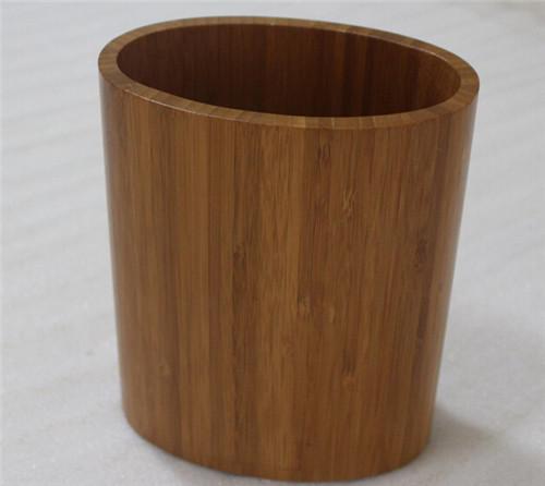 厂家让利 优惠搭 深山楠竹精制沙拉勺子筒+竹制长柄竹沙拉勺