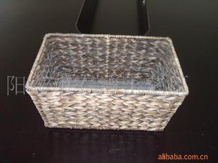 廠家直銷供應手工蕉皮藤籃 方型天然竹籃防蟲防霉裝飾籃 品質上乘