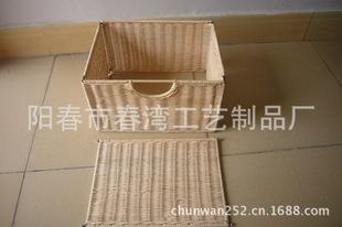 【廠家直銷】批發供應藤籃子系列鐵架折疊籃子 植物工藝品
