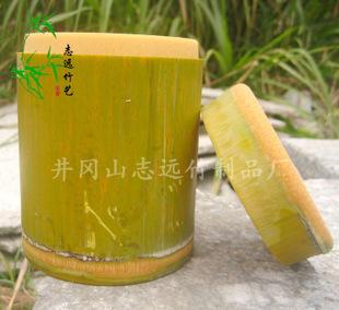 竹制品 纯天然竹筒、竹饭盒、带青竹筒、竹盒定制加logo