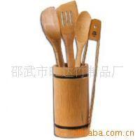 厂家直销 竹制套装 竹勺竹筒 竹餐具 竹制厨房用品 批发